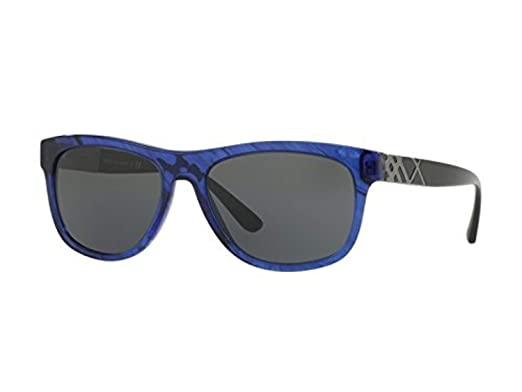 15851089cfde Sunglasses Burberry BE 4234 362687 BLUE HAVANA at Amazon Men s ...
