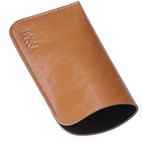M-world Leather-tone, Slip in, slim soft-case, Eye Glasses Case - Cool Glasses Case