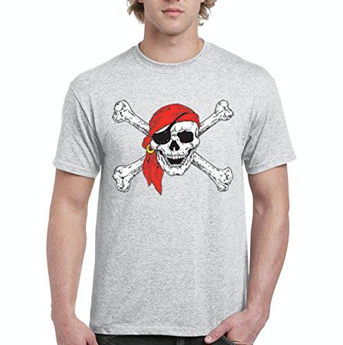 Mom's Favorite Christmas T-Shirt Jolly Roger Skull Crossbones Halloween Ugly Sweater Xmas Party Mens Shirts