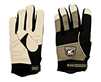 Gatorback DuraGrip Work Gloves. Goat Skin, Pig Skin, Synthetic Leather and Fingerless work gloves for electrican, carpenter, hvac, framer, etc. Tough gloves by Contractor Pro