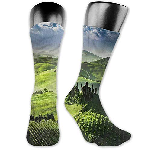 Sun Valley Grip - Sock for Male Gifts Nature,Sunrise in the Valley,socks for toddler boys with grip