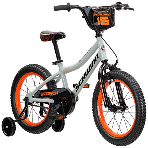 Schwinn Scorch Boy's Bike with Training Wheels, 16