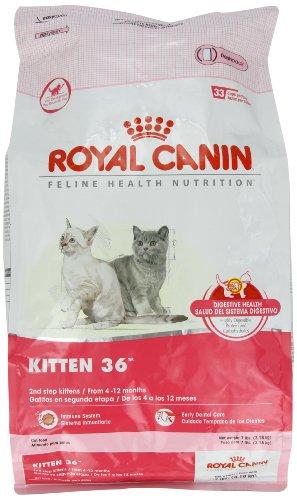 Royal Canin Dry Cat Food, Kitten 36 Formula, 7-Pound Bag, My Pet Supplies