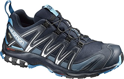 SALOMON Men's XA PRO 3D GTX Trail Runner, Navy Blazer, 12 M US (Salomon Mens Xa Pro 3d Trail Running Shoe)