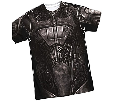 Borg Costume -- Star Trek Front/Back Sports Fabric Youth T-Shirt, Youth Small (6/8) - Borg Costume Star Trek