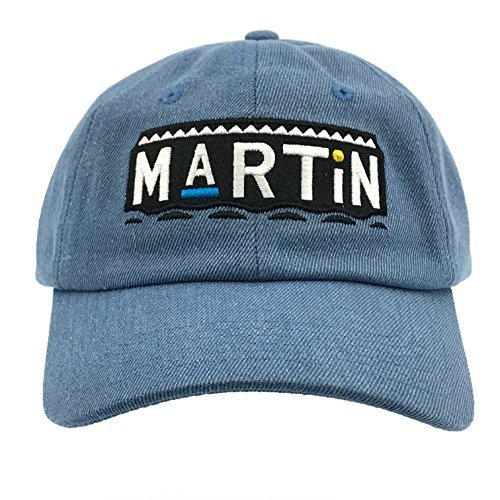 CUSTOM Martin Tv Show Hat Baseball Cap 90s Dad Hat (Denim)