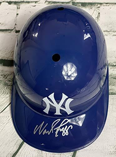 (Wade Boggs Signed Autographed New York Yankees F/S Batting Helmet - JSA COA)