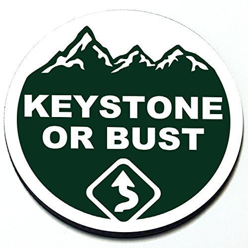 Keystone or Bust Badge for MINI Takes the States 2018 - Magnetic Grill Badge For MINI Cooper