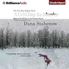 A Cold Day for Murder: A Kate Shugak Mystery Audiobook by Dana Stabenow Narrated by Marguerite Gavin