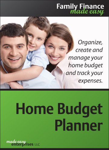 Home Budget Planner 1.0 for Windows [Download] by Made Easy Enterprises LLC