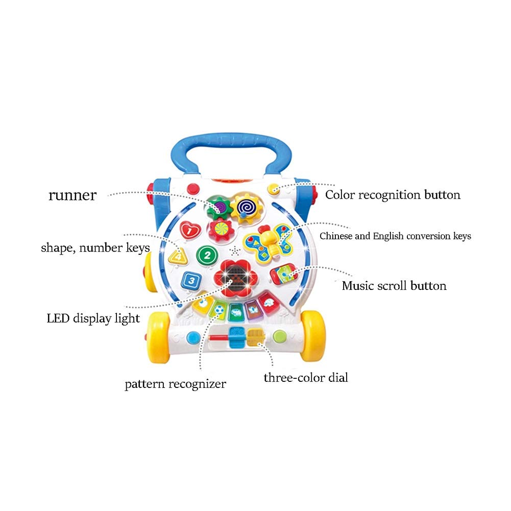 Walker Infant Stroller Multi-función antirremolque Power Booster ...