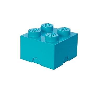 Empilable5 Rangement 7 LTurquoise Lego Brique De 4 PlotsBoîte 9WEDH2IY