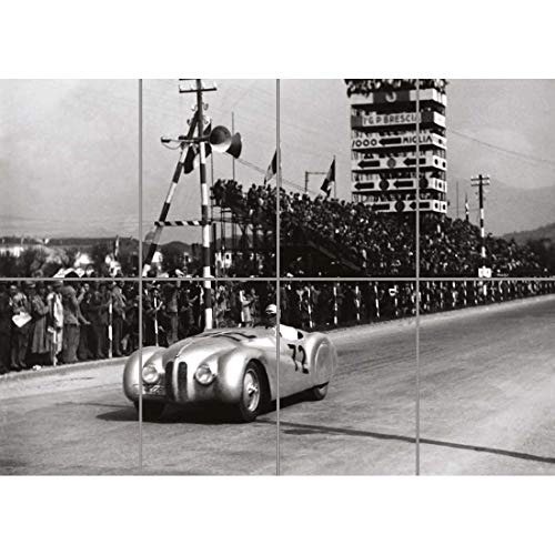 (BMW 328 RACING VINTAGE CAR RETRO COOL GIANT PICTURE ART PRINT NEW POSTER ST979)