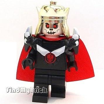 Amazon.com: Lego Skeleton King Custom Minifigure with Armor Pauldron ...