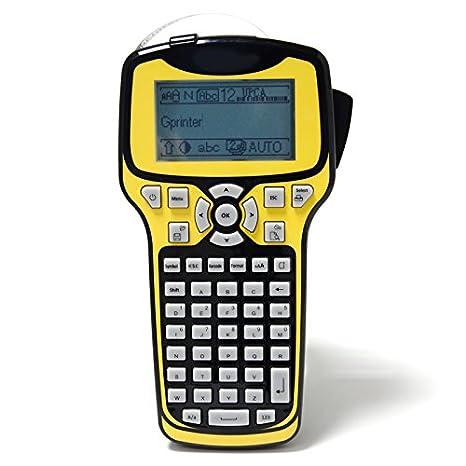Amazon.com: Handheld Impresora térmica etiqueta Código de ...
