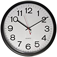 Universal Indoor/Outdoor Clock, 13 1/2-I...