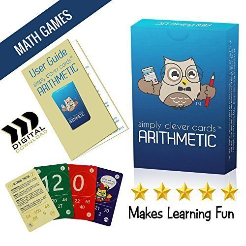 math flash playing cards arithmetic