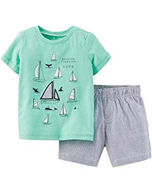 Carter's 2 Piece Short Set (Baby)