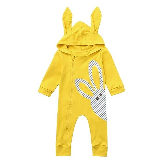 Kleinkind Neugeborenes Baby lang/ärmelige Cartoon Igel Strampler Overall Kleidung f/ür 3-24 Monate i-uend Baby 2019 New Jumpsuit
