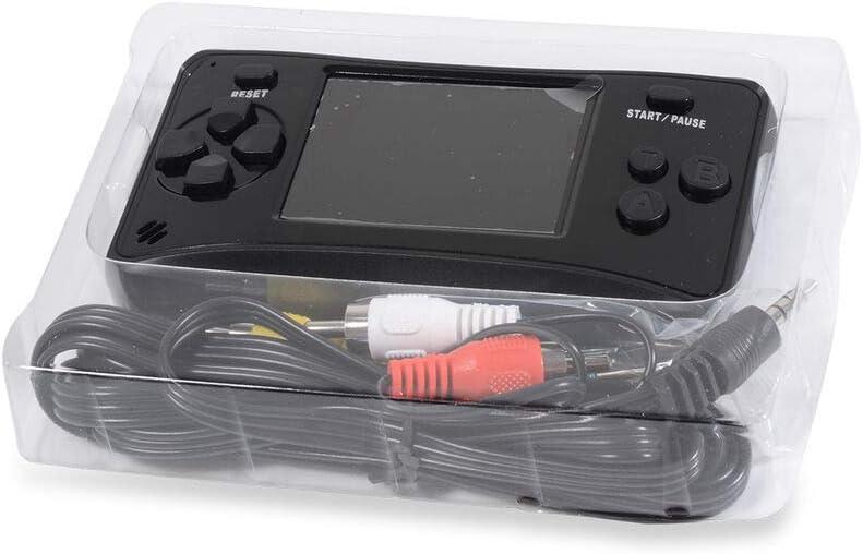 TJC AQUARIUS Handheld Electronic Arcade Retro 220 Classic Video Game HD Screen Black Colour Gift for Kids