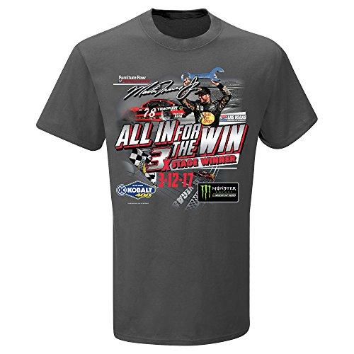- Martin Truex Jr 2017 Las Vegas Race Win NASCAR T-Shirt (Large)