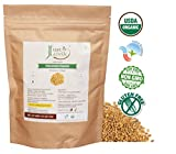 Just Jaivik 100% Organic Fenugreek Powder- 0.5 LB/227g/08 oz- USDA...