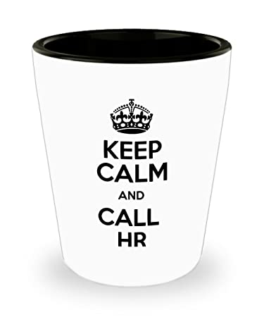 Amazon.de: Echthaar Ressourcen Specialist Shot Glas - Keep Calm and ...