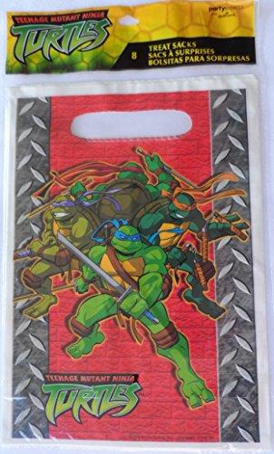 Teenage Mutant Ninja Turtles 8 Count Treat Sacks Package of 3 (24 Sacks Total) ()