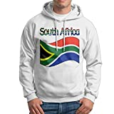 ZW&LC Men's South Africa-1 Cotton Hooded Pullover Cozy Sport Outwear