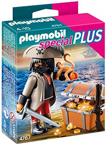 PLAYMOBIL® Gloomy Pirate with Treasure Chest