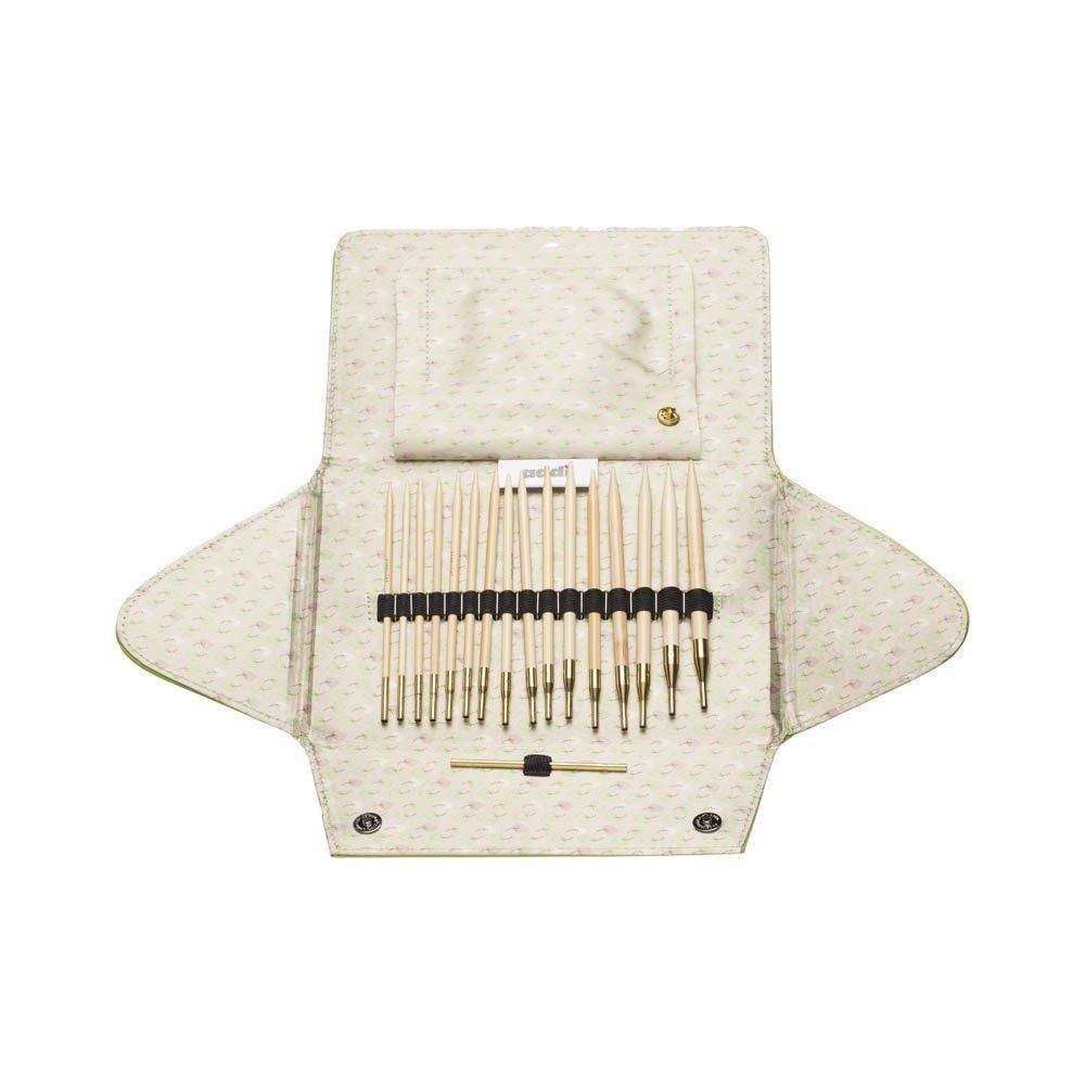addi Click Nature Bamboo Interchangeable Knitting Needle Set by addi (Image #1)
