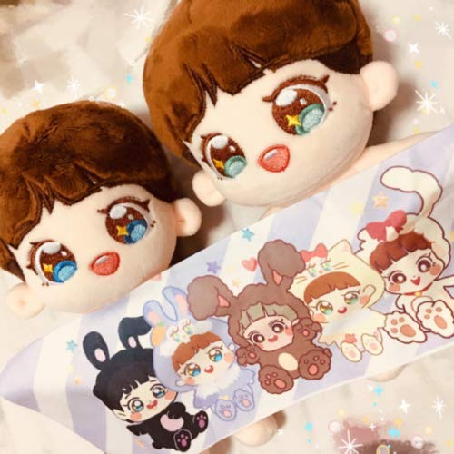 - VogueMing 20cm/8'' Kpop EXO Plush Doki Kiwi Chanyeol Doll Toy Limited New【Without Clothes】 Limited Gift (doki[Blue Eyes], Only 1 Doll Without Clothes)