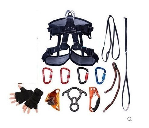GOWE Part for 2600KG CE standard both ascend-descend aerial work fast safety insurance working static rope sport harnesslifting sling by Gowe (Image #3)