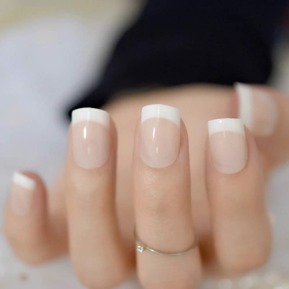 Fashion Zone French Nails Nail Art Pre Design Acrylic Fake Nail
