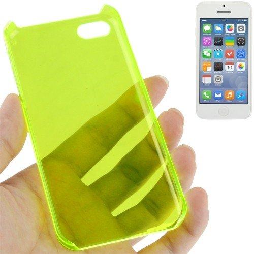 Schutzhülle Hard Case für Handy Apple iPhone 5C Leuchtgrün