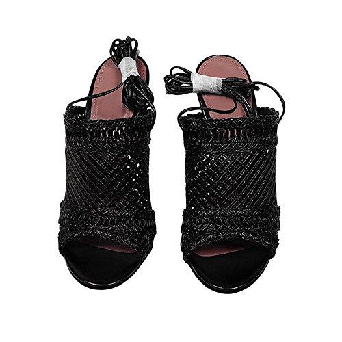 des Embouchure 37 Taille Femme Sandales JIANXIN EU US Chaussures Talons avec Et 4 De JP 24cm 6 pour Poisson Aiguilles des UK D'été À Sexy vqqOU