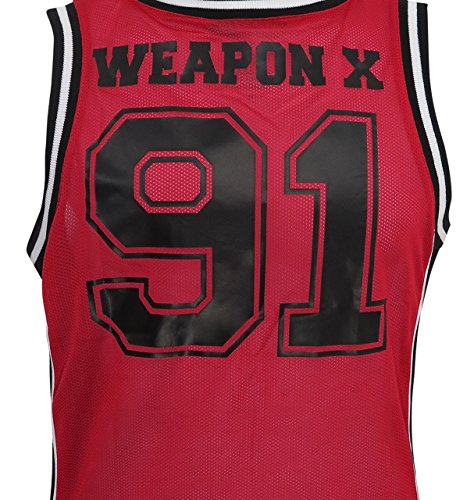 518b24a3778 Deadpool Weapon X Basketball Jersey Tank Top - Buy Online in UAE ...
