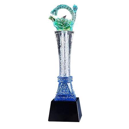 MU Arte Trophy, trofeo de cristal, cristal trofeo, trofeo creativo ...