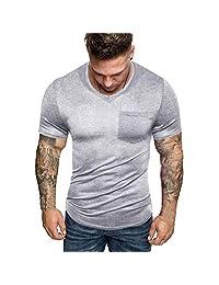 Naladoo Men Personalized Creative Novelty Printed T-Shirts Short Sleeve Top Tees
