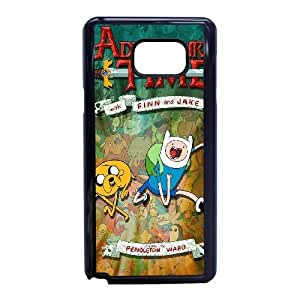 Samsung Galaxy Note 5 Phone Case Black Adventure Time ESTY7924334