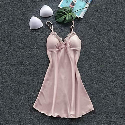 Luckycat Sexy Conjuntos Dos Piezas Vestido Mujer Erótico Lace Talla Grande Lenceria Babydoll Interior Ropa de Dormir Floral de Encaje Cuello en V Camisión ...