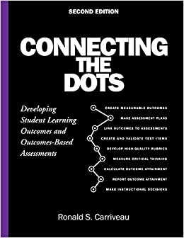 Connecting the Dots: Developing Student Learning Outcomes and Outcomes-Based Assessment