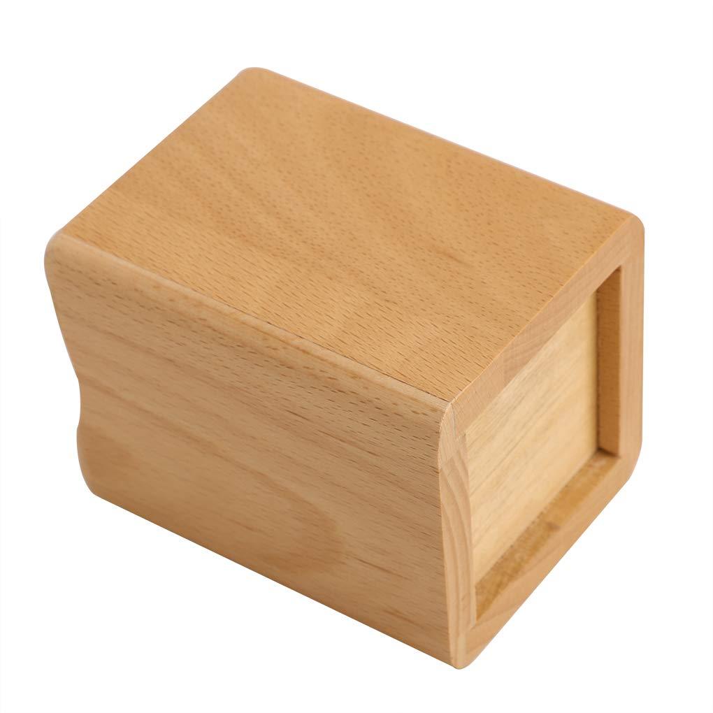 Afinder Holz viereckig Stiftebox Stiftehalter Kinder Stiftk/öcher Stiftest/änder Schreibtischbox Stiftablage Stiftebecher Tisch Organizer sch/ön Gr/ö/ß Bleistift Box f/ür B/üro Schule