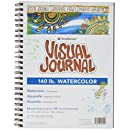 """Strathmore STR-460-59 44 Sheet No.140 Watercolor Visual Journal, 9 by 12"""""""