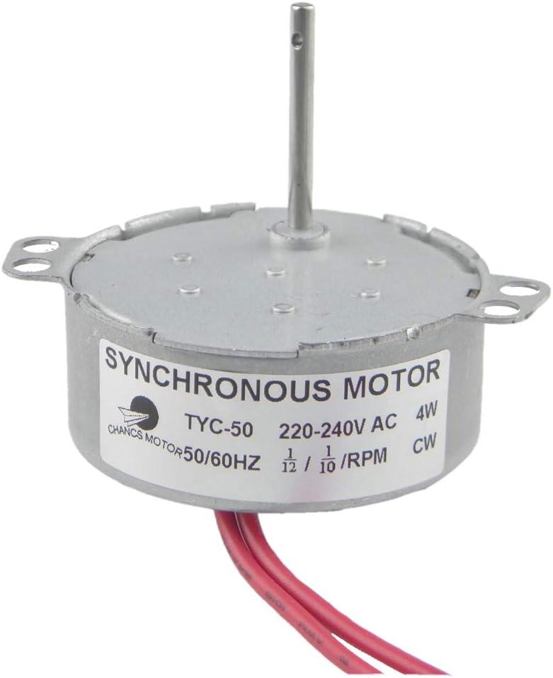 Synchronmotor Wechselstrom Motor Getriebemotor Langsamläufer CW CCW 220V 5~50rpm