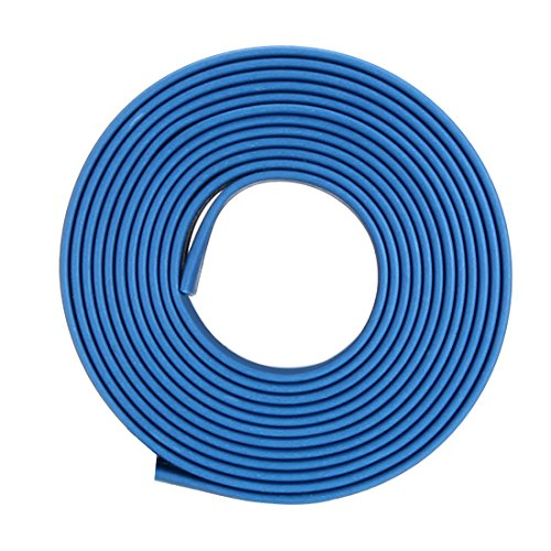 uxcell Heat Shrink Tube 2:1 Electrical Insulation Tube Wire Cable Tubing Sleeving Wrap Blue 14mm Diameter 1m Long