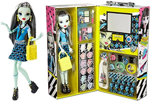 MH Monster High Fashion Doll Case with Frankie Stein or Draculaura (Frankie Stein)
