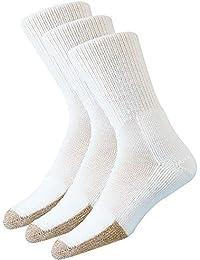 White Large Thorlos Unisex BX Basketball Thick Padded Crew Sock