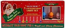 Christopher Radko Bubble-lite Bubble Light, Light Strand, Set Of 7 By Christopher Radko Shiny Brite