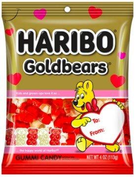 Haribo Gold Bears Valentine Gummy Bears Seasonal Edition